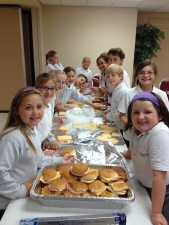 Youth Sandwiches for Homeless Sept 2014